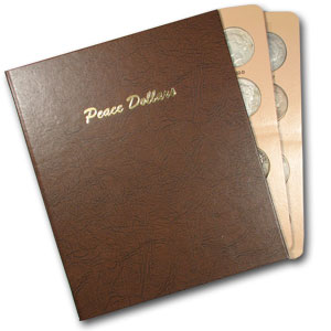 Peace Dollar Set (In Dansco Album) - 23 Coins