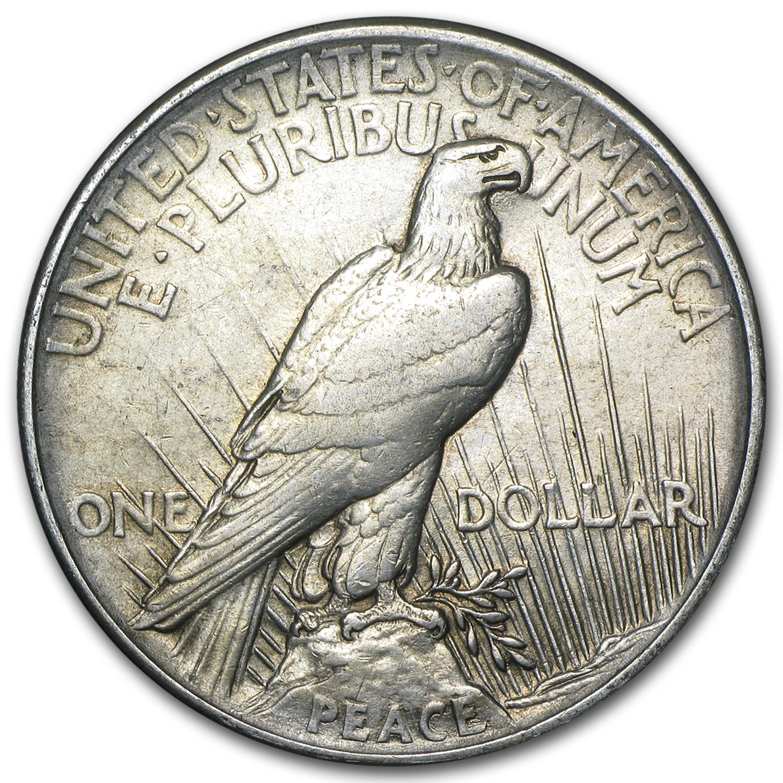 High Relief Peace Dollar Dollar Vg/vf High Relief