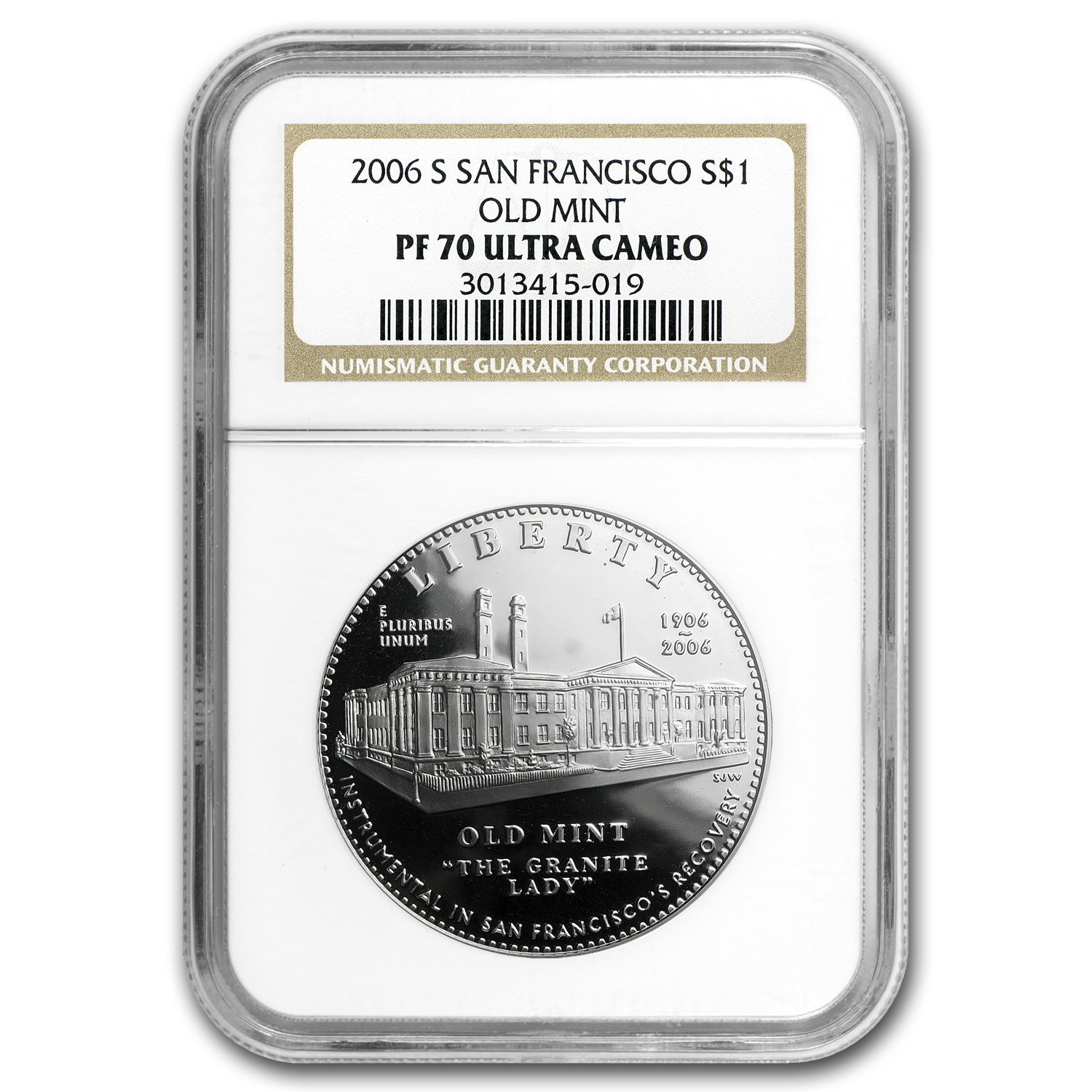 2006-S San Francisco Old Mint $1 Silver Commem PF-70 NGC