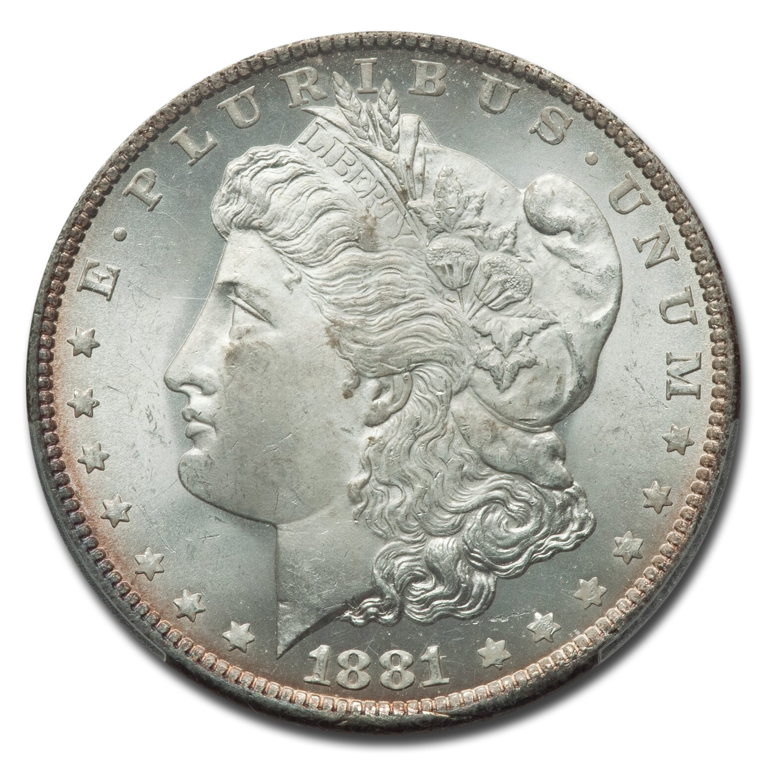 1881-O Morgan Dollar MS-65 PCGS
