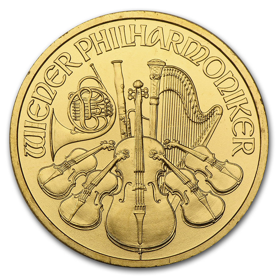 2009 1/4 oz Gold Austrian Philharmonic