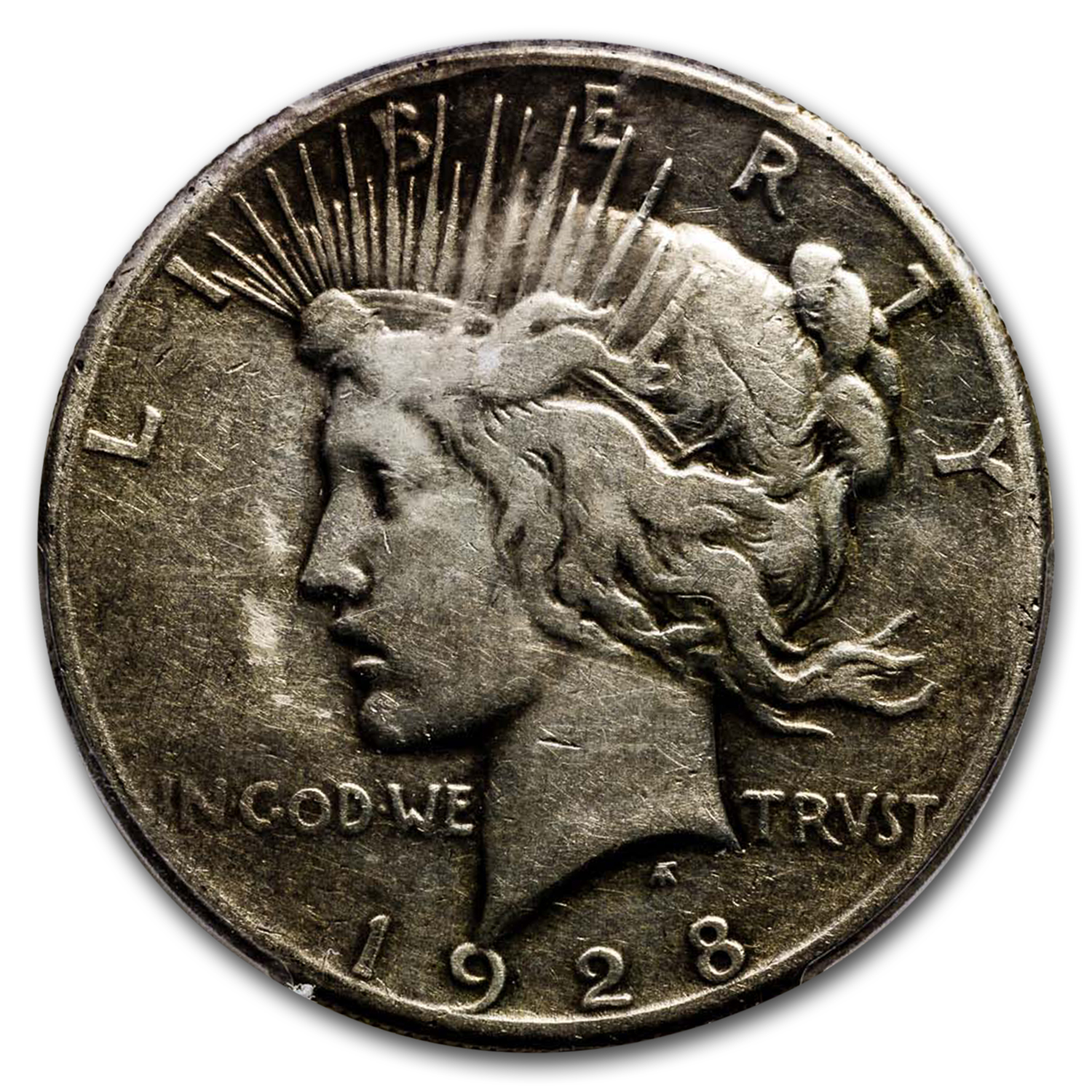 1928 Peace Dollar - Very Good