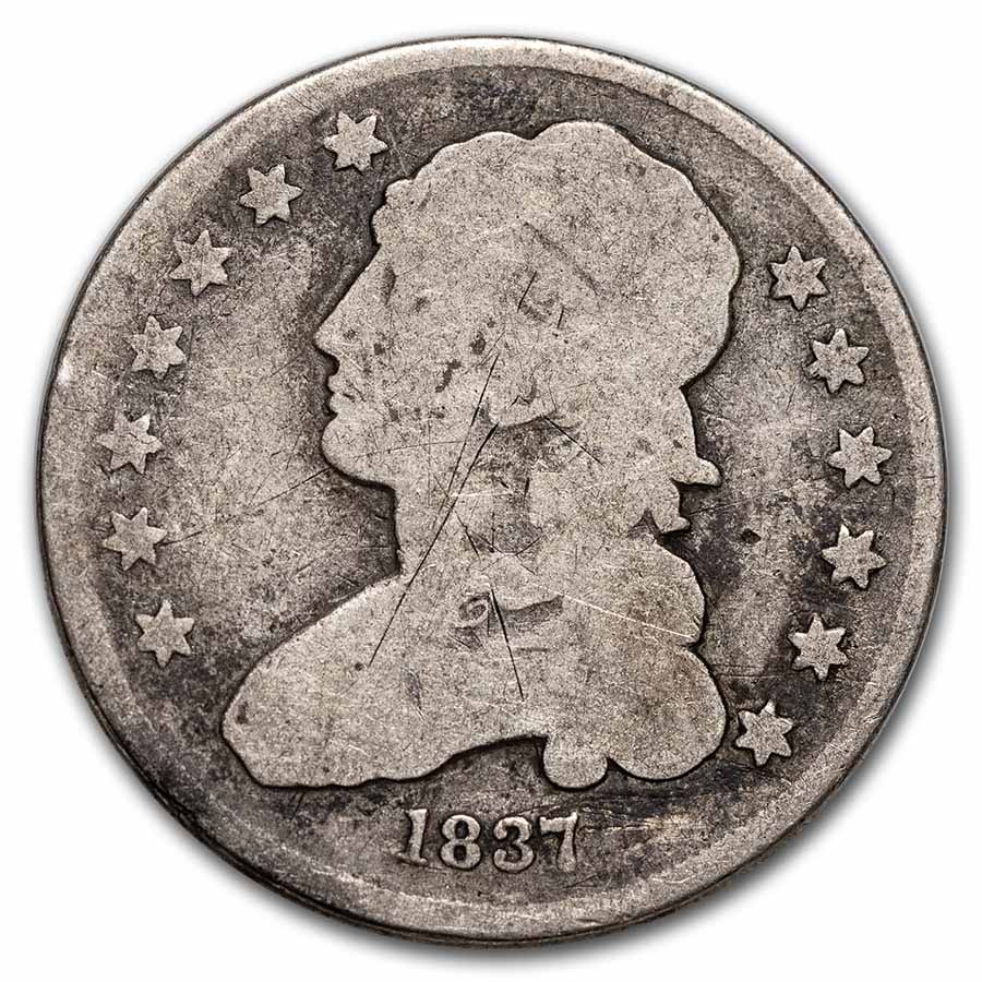 1815-1838 Capped Bust Quarter Avg Circ