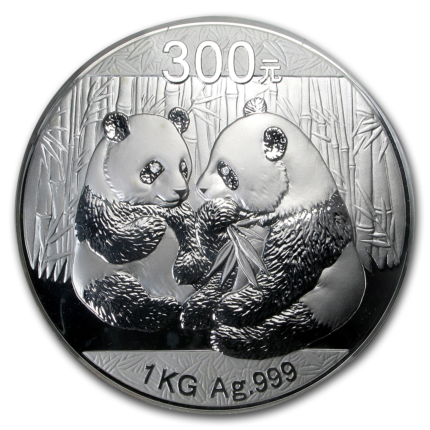 2009 China 1 kilo Silver Panda Proof (w/Box & COA)