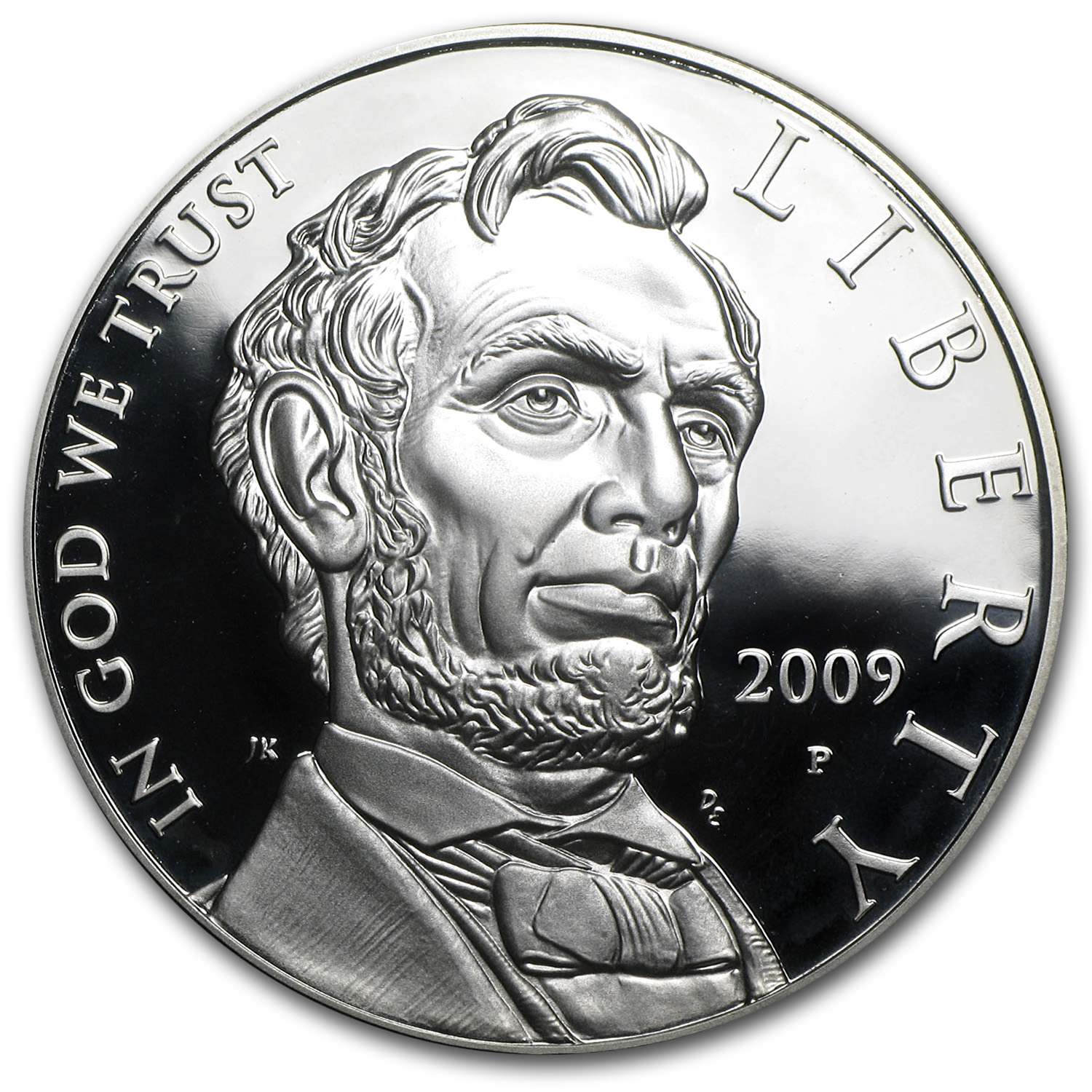 2009-P Abraham Lincoln $1 Silver Commem Proof (w/Box & COA)