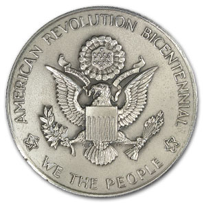 8.5 oz The National Bicentennial Medal 1776-1976 Sterling .925