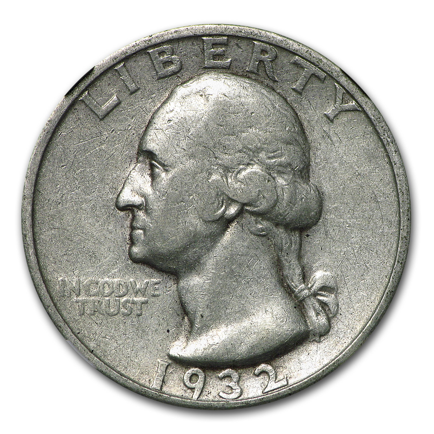 1932-S Washington Quarter VF-35 NGC