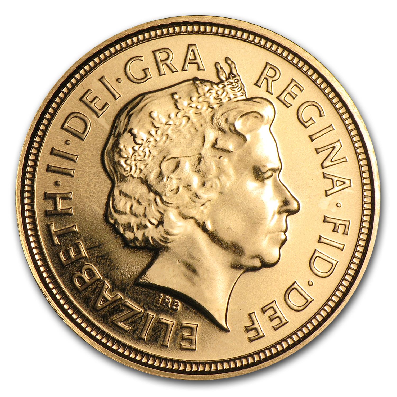 2001 2012 Great Britain Gold 1 2 Sovereign Bu British