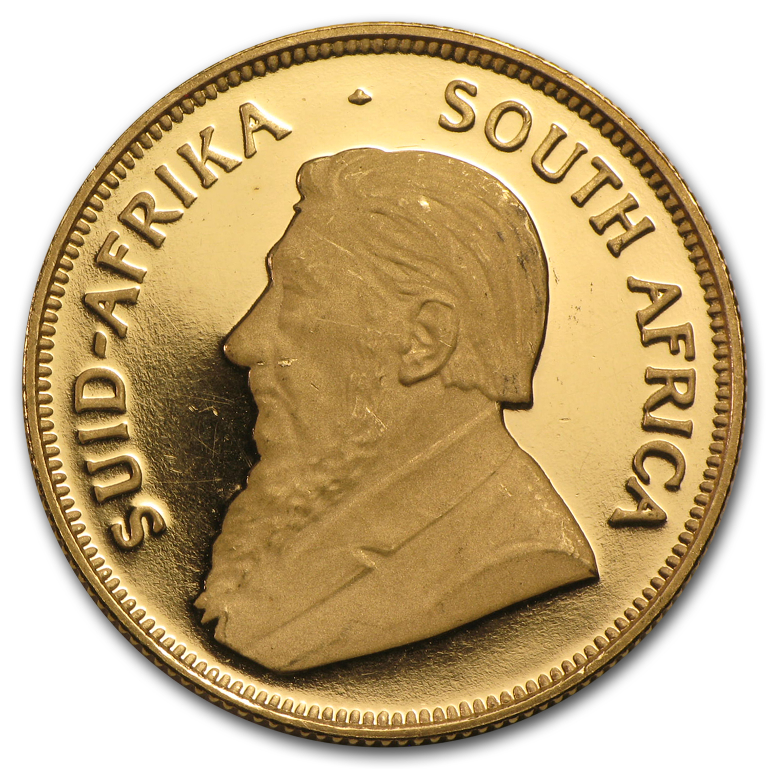 1997 1/2 oz Gold South African Krugerrand (Proof) (30th Ann)