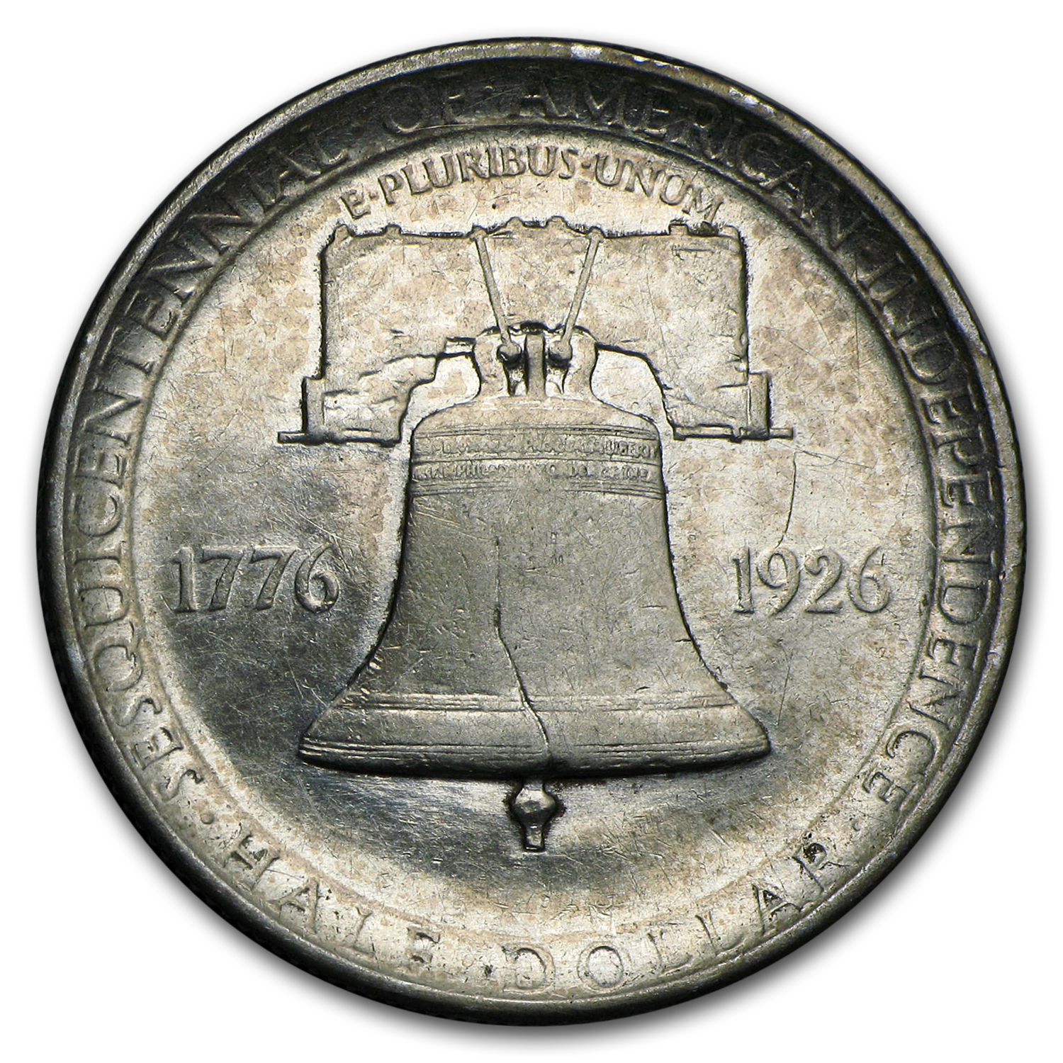 1926 Sesquicentennial of American Independence Half Avg Circ