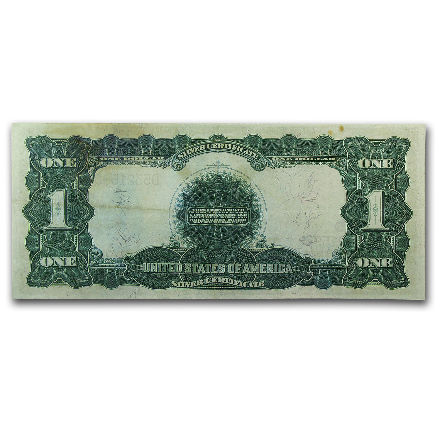 1899 $1.00 Silver Certificate Black Eagle VF