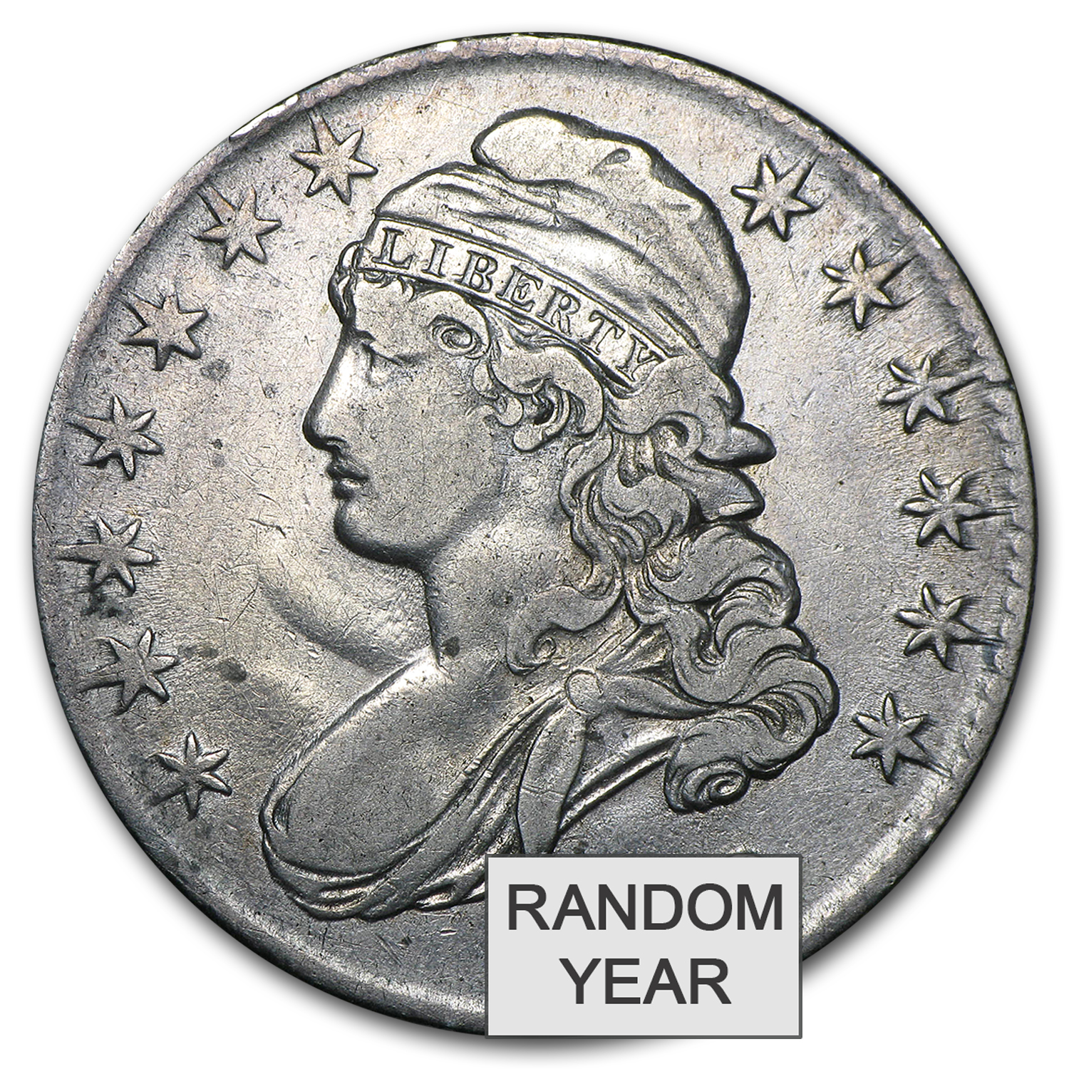 1808-1836 Capped Bust Half Dollars Avg Circ