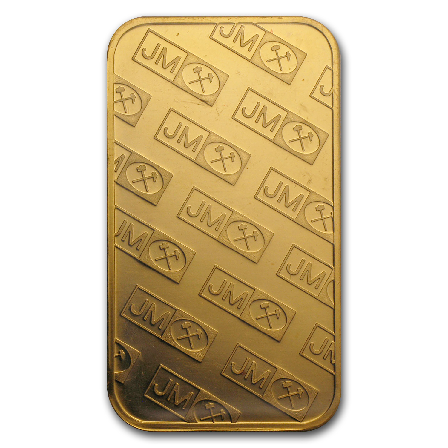 1 oz Gold Bars - Johnson Matthey (Logo Back, w/o Assay)