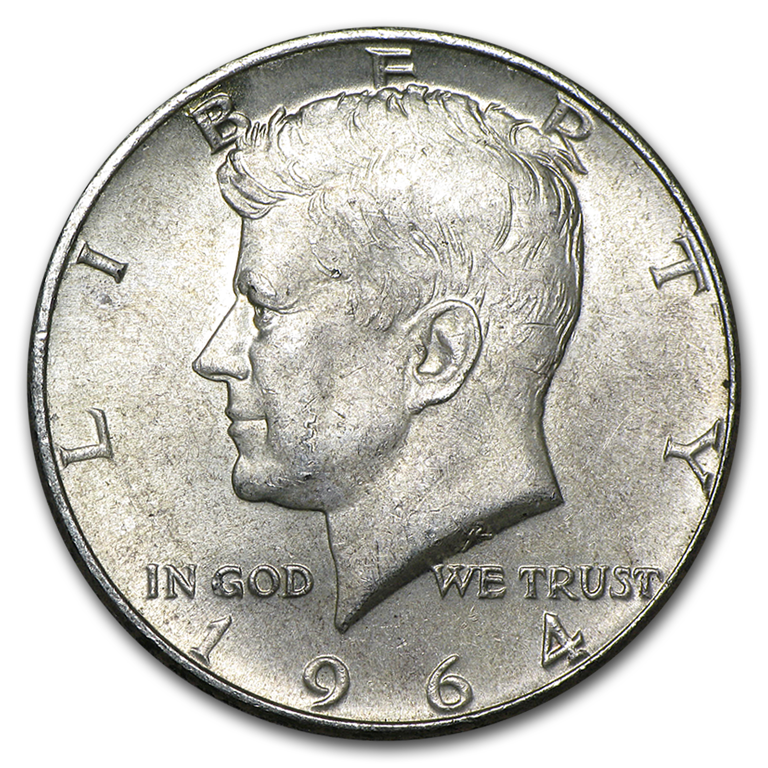 1964 Kennedy Half Dollar Roll (20ct) - Average Circulated