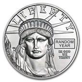1 oz Platinum American Eagle BU (Random Year)