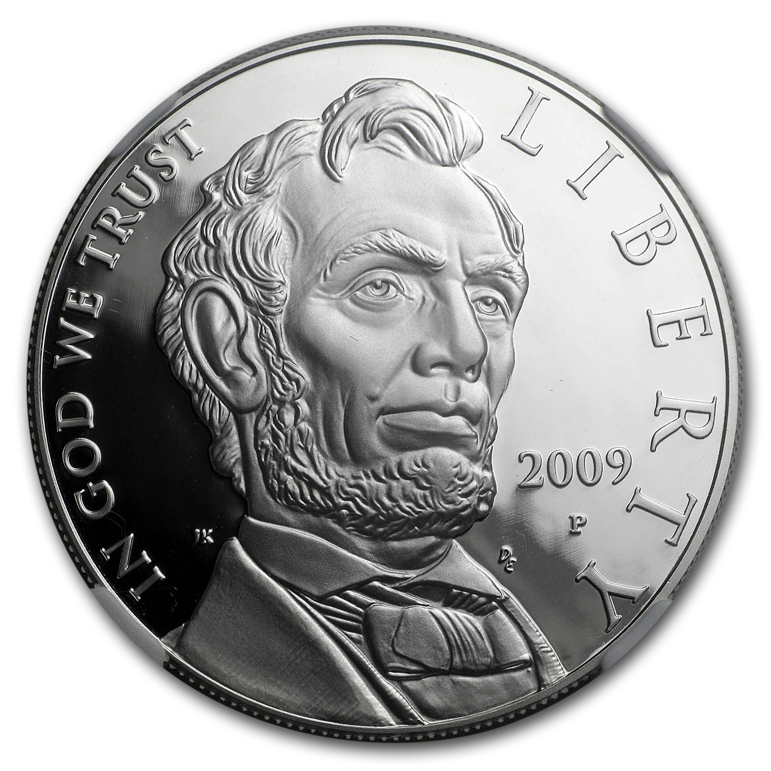 2009-P Abraham Lincoln $1 Silver Commemorative PF-70 NGC