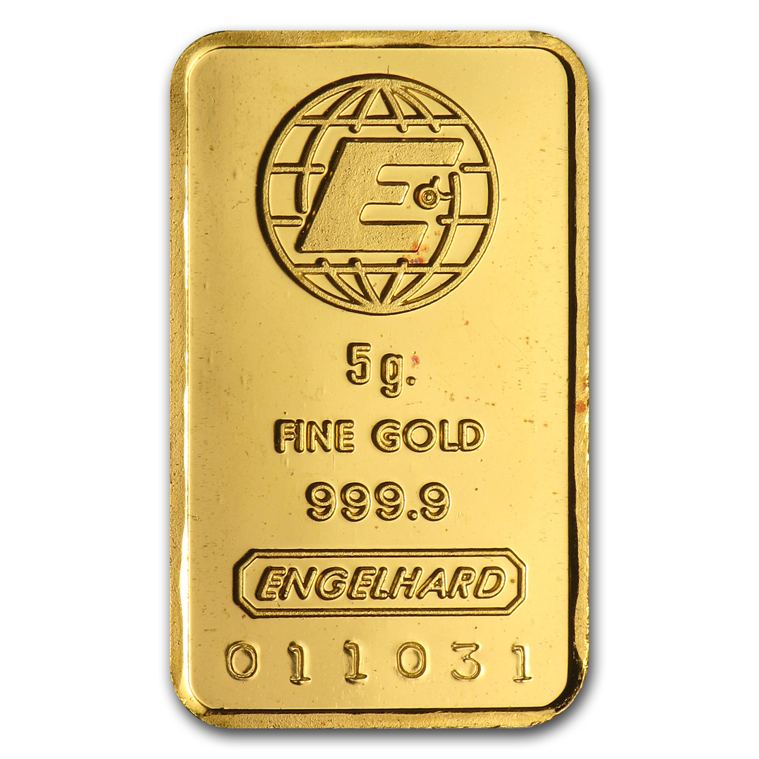 5 gram Gold Bar - Engelhard