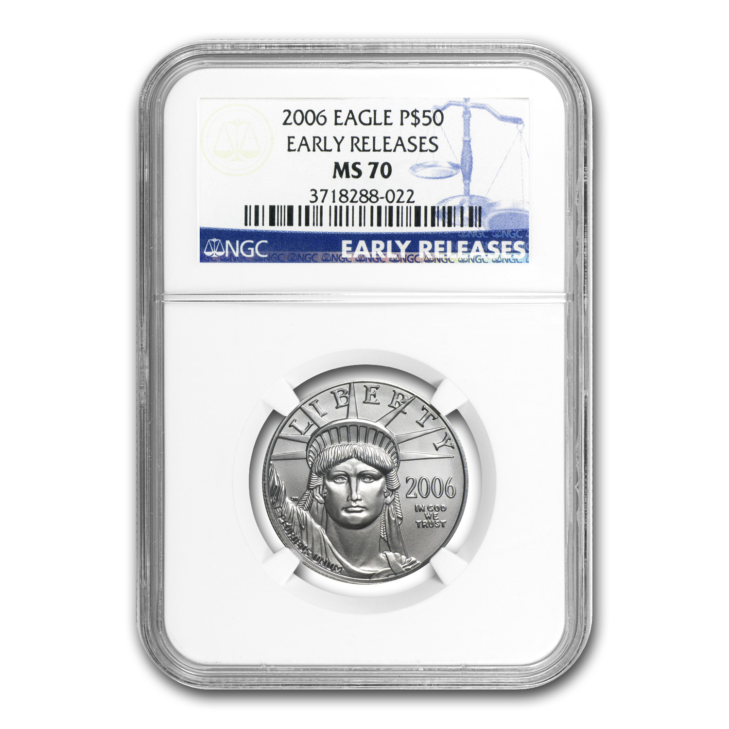 2006 4-Coin Platinum Eagle Set MS-70 NGC (Early Releases)
