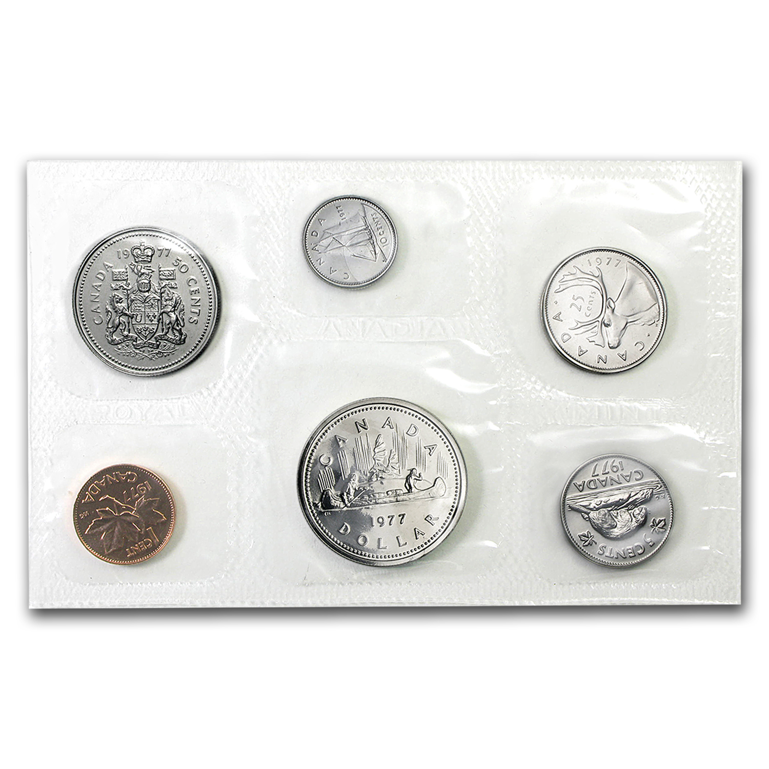 1977 Canada Proof-Like 6 Coin Set