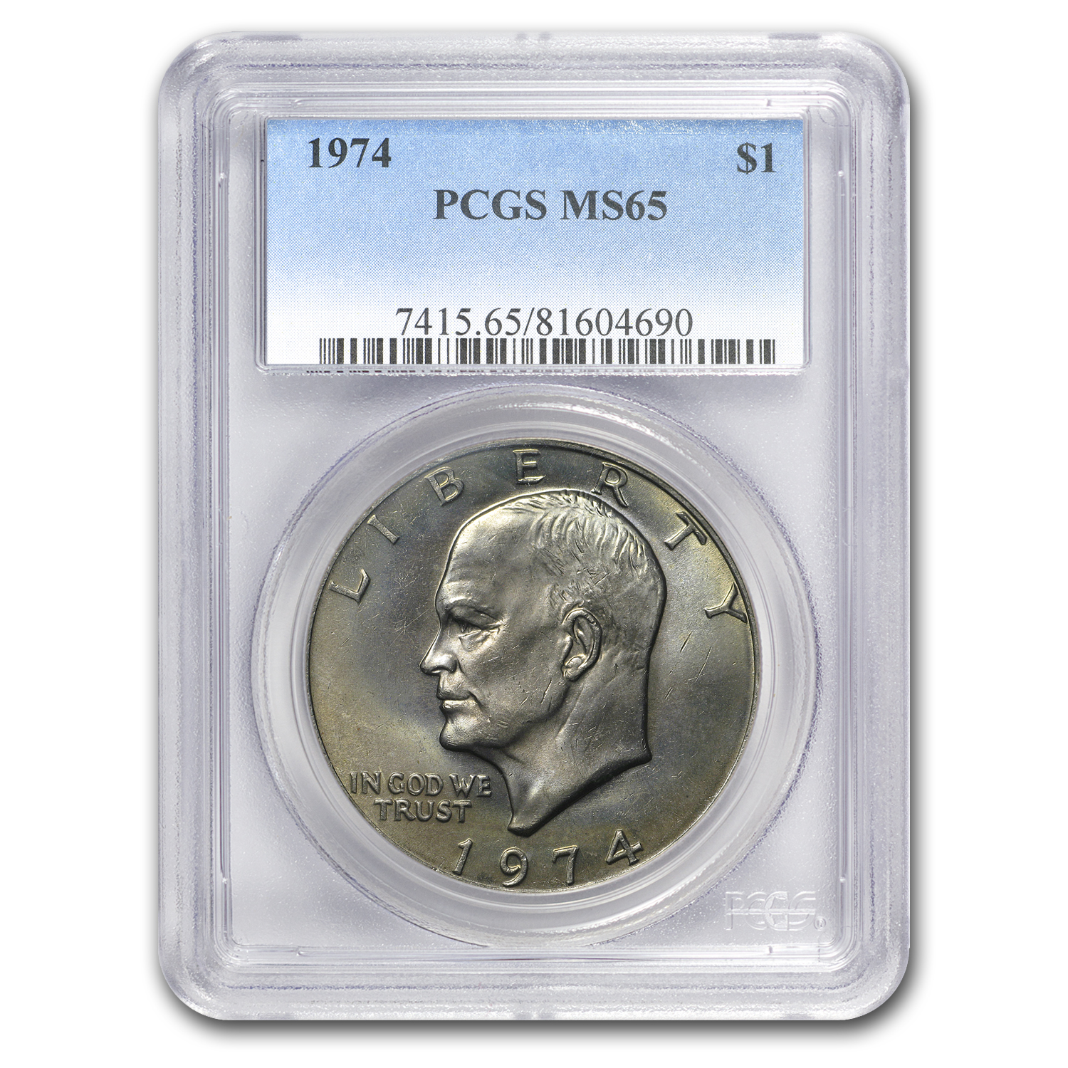 1974 Eisenhower Dollar MS-65 PCGS