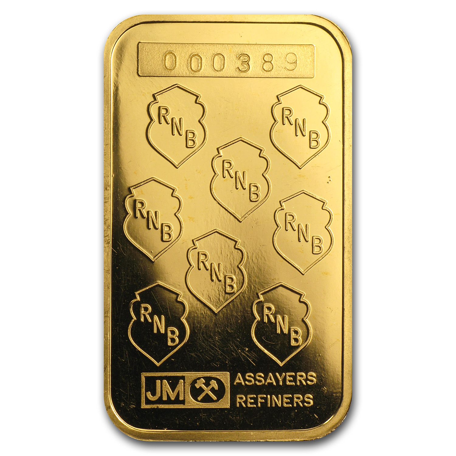 1/2 oz Gold Bar - Johnson Matthey (RNB)