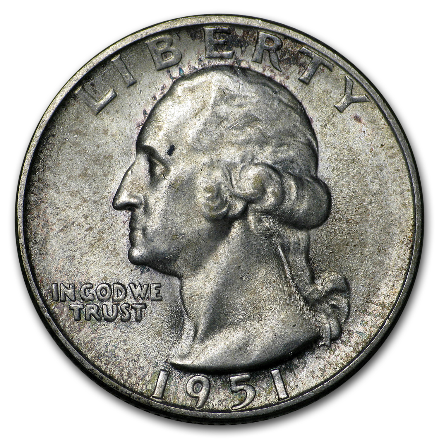 1951-S Washington Quarter BU