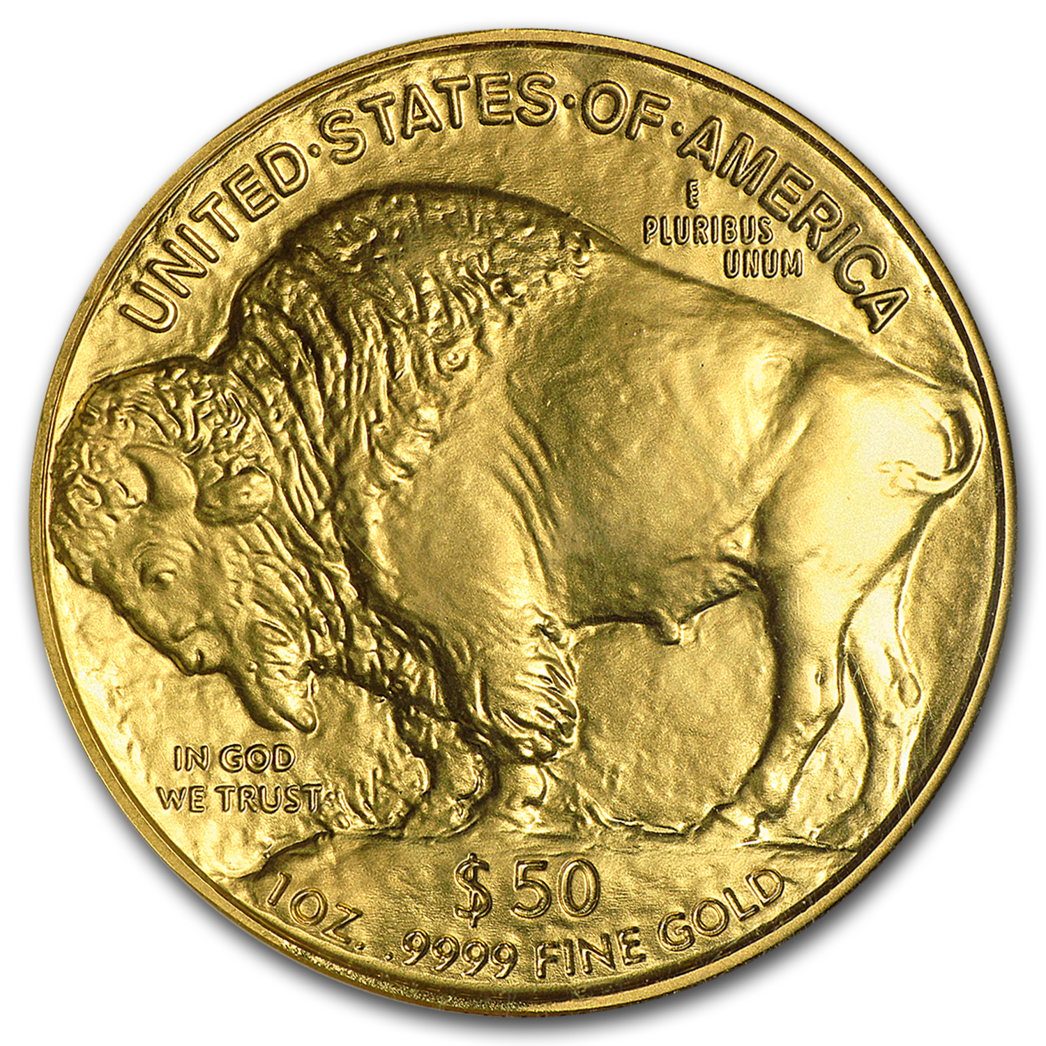 2007 1 oz Gold Buffalo MS-69 NGC