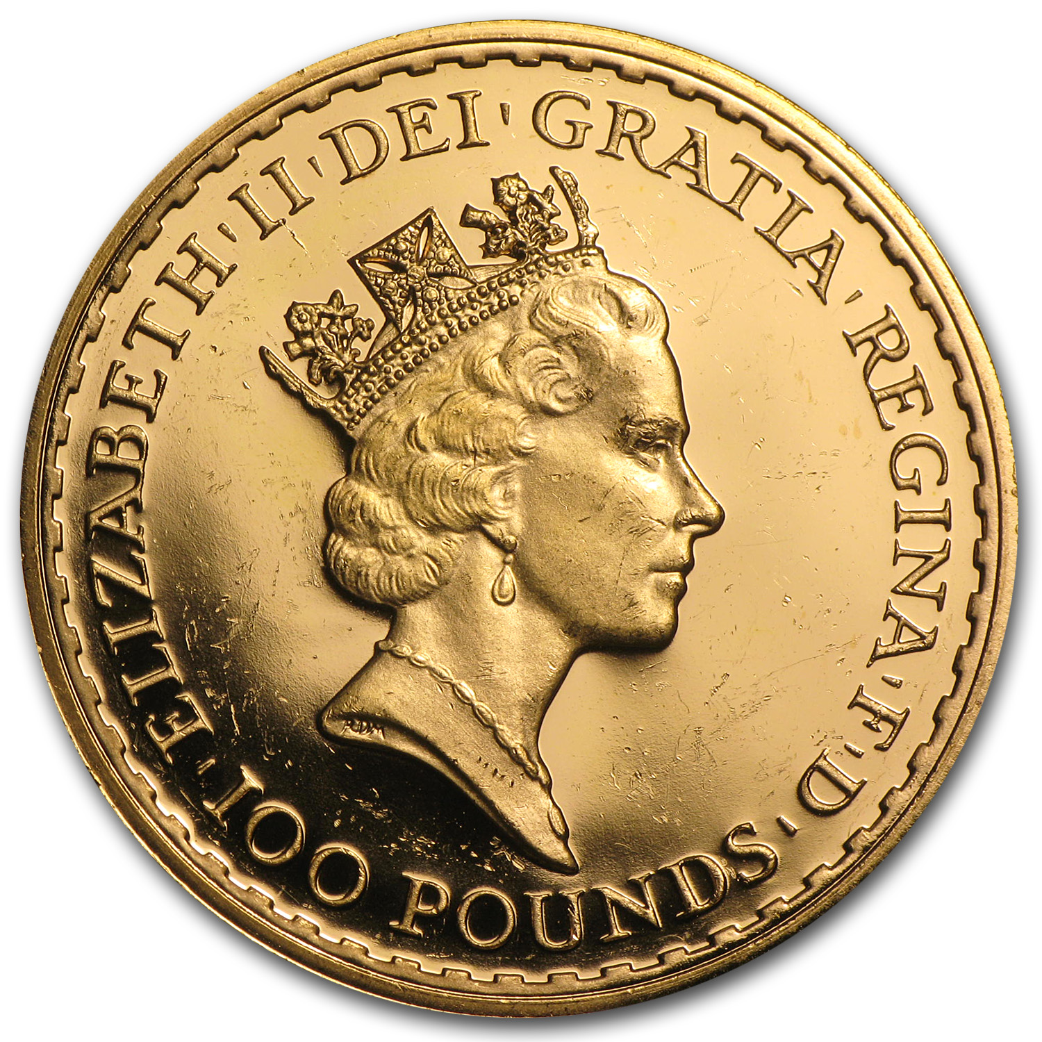 1 oz Gold Britannia (Proof &/or Uncirculated) (Scruffy)