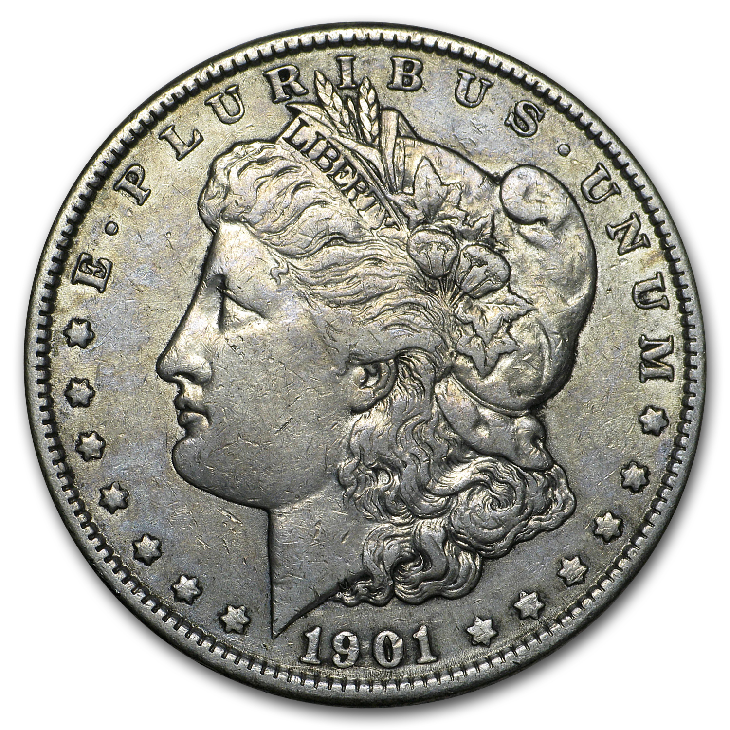 1901 Morgan Dollar XF-45