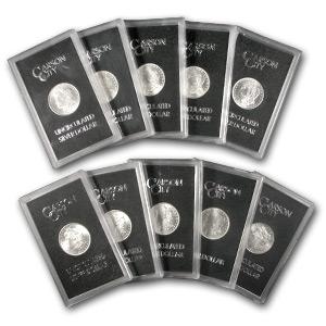 1878 Cc To 1891 Cc Complete Set Of Carson City Gsa Dollars