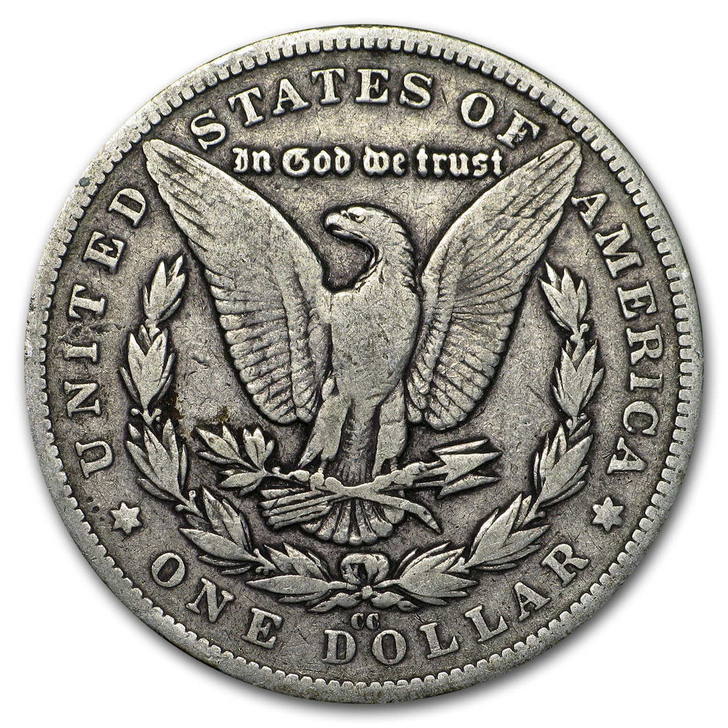 1880-CC Morgan Dollar VF