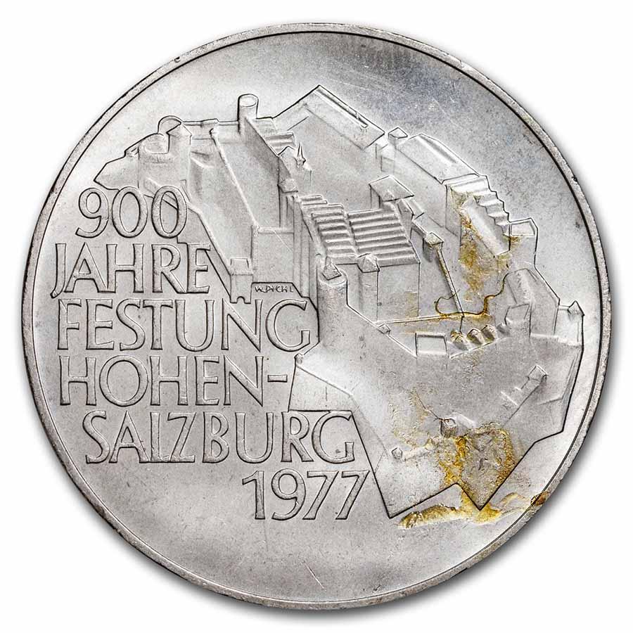 1974 1979 Austria Silver 100 Schillings Commemoratives Au