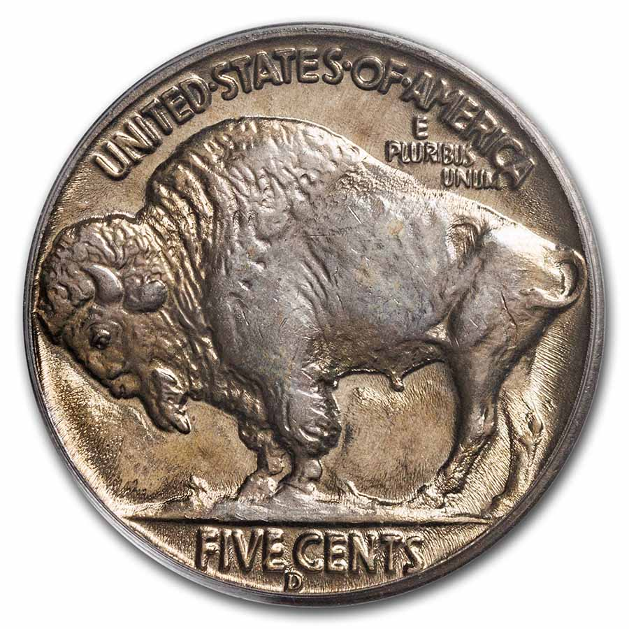 1937-D Buffalo Nickel MS-66 PCGS