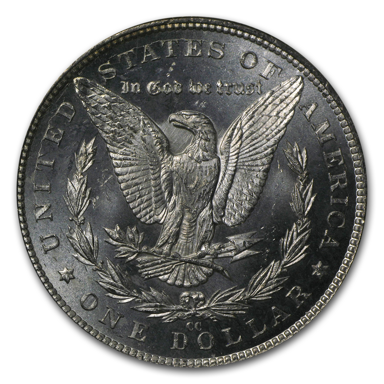 1883-CC Morgan Dollar MS-64 Proof Like PCGS