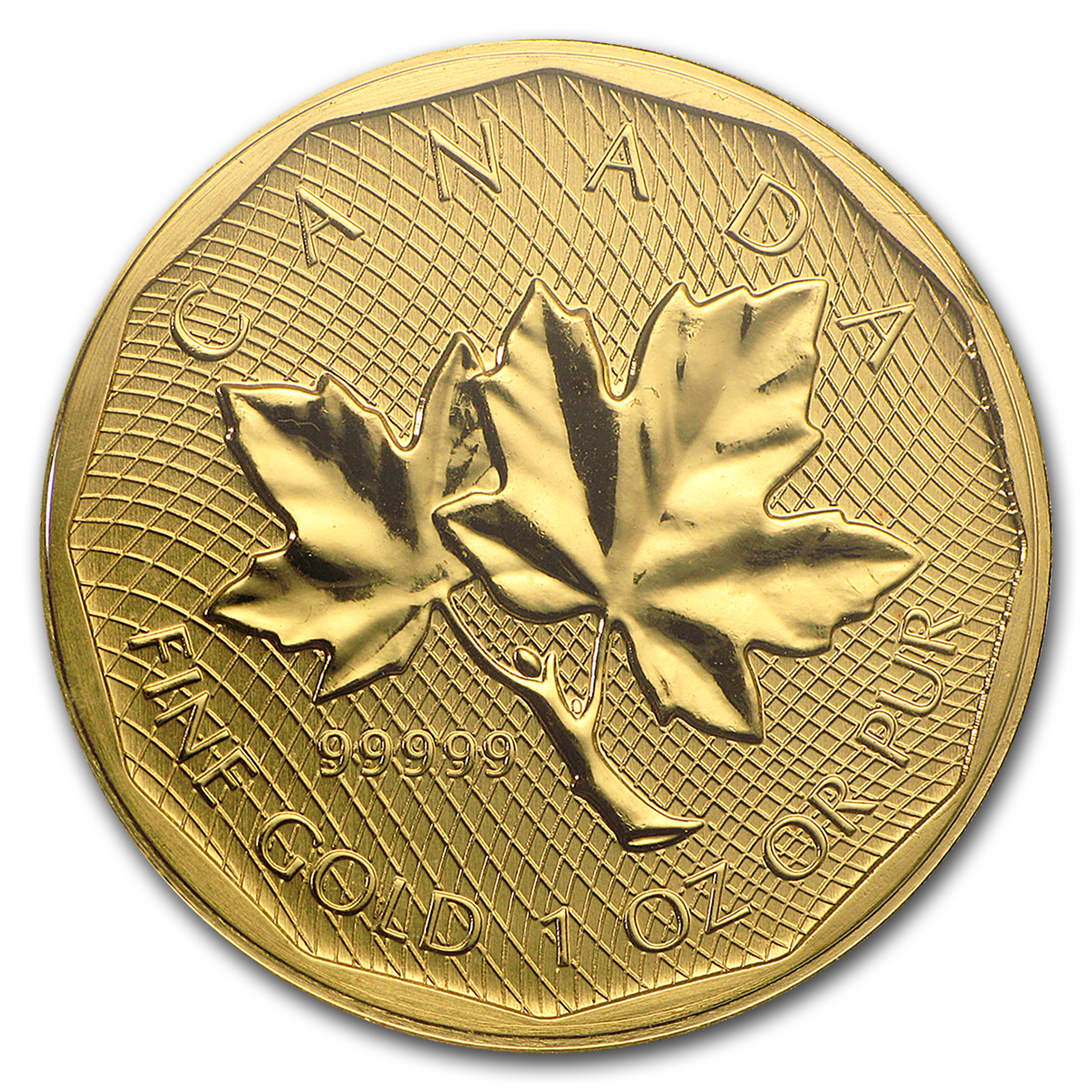 2008 Canada 1 oz Gold Maple Leaf .99999 BU (No Assay)