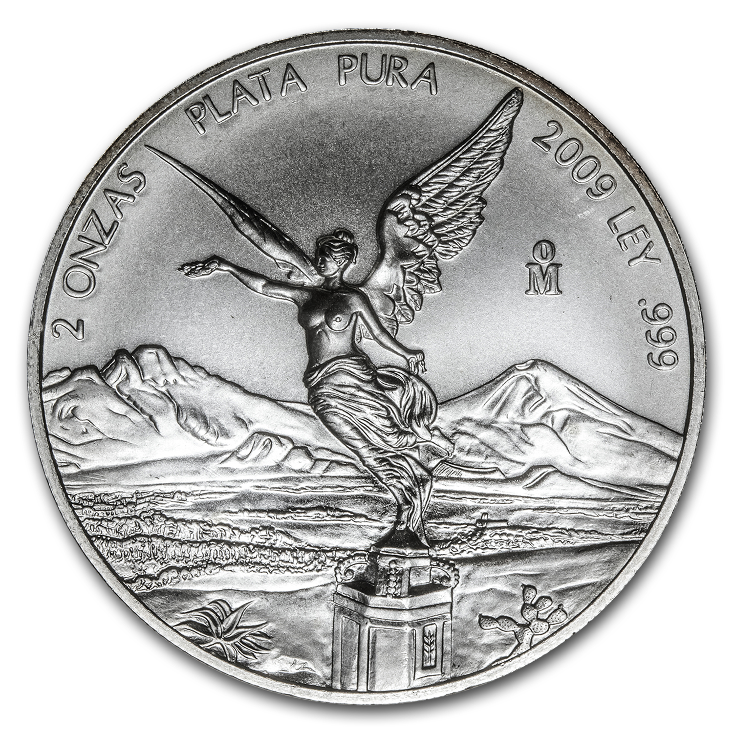 2009 2 oz Silver Mexican Libertad (Brilliant Uncirculated)
