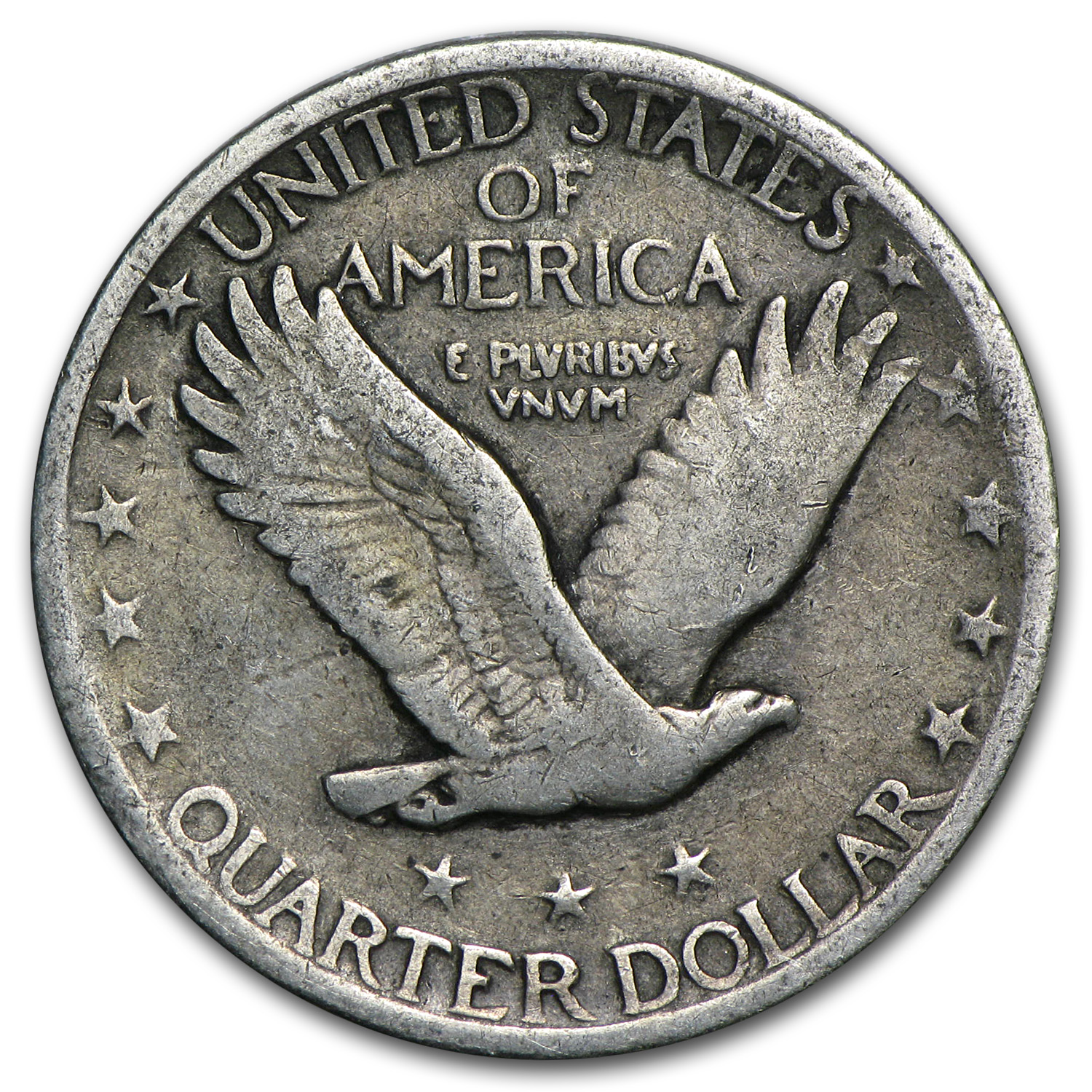1921 Standing Liberty Quarter - Partial Date - Very Good