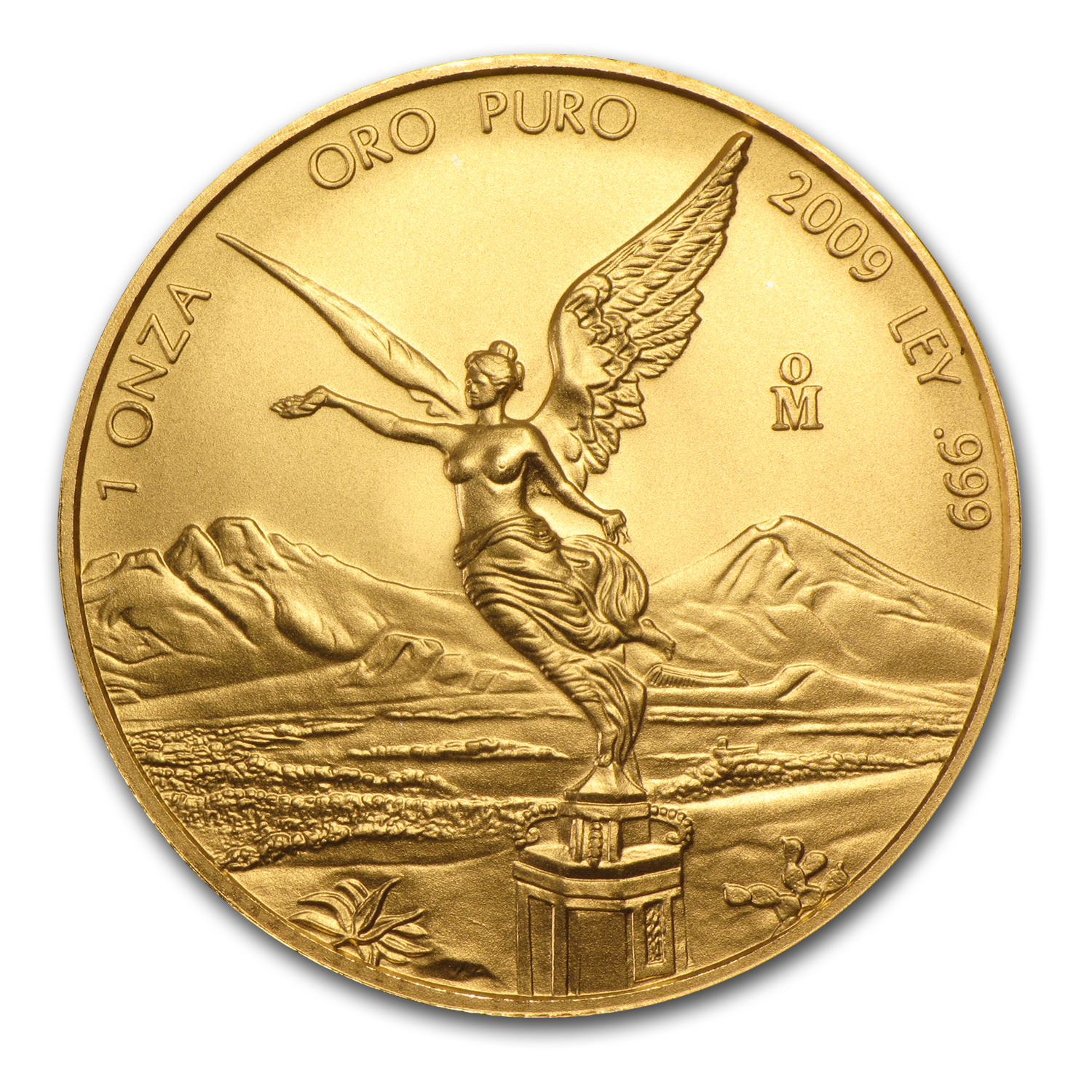 2009 1 oz Gold Mexican Libertad BU