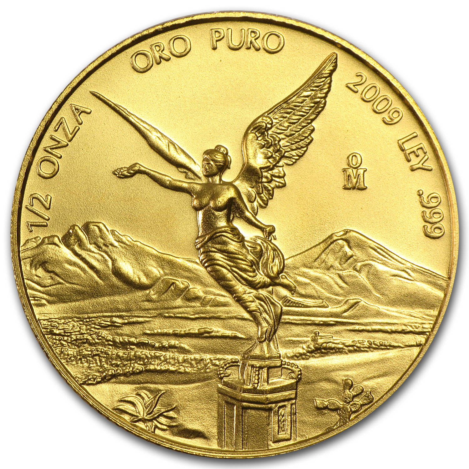 2009 Mexico 1/2 oz Gold Libertad BU