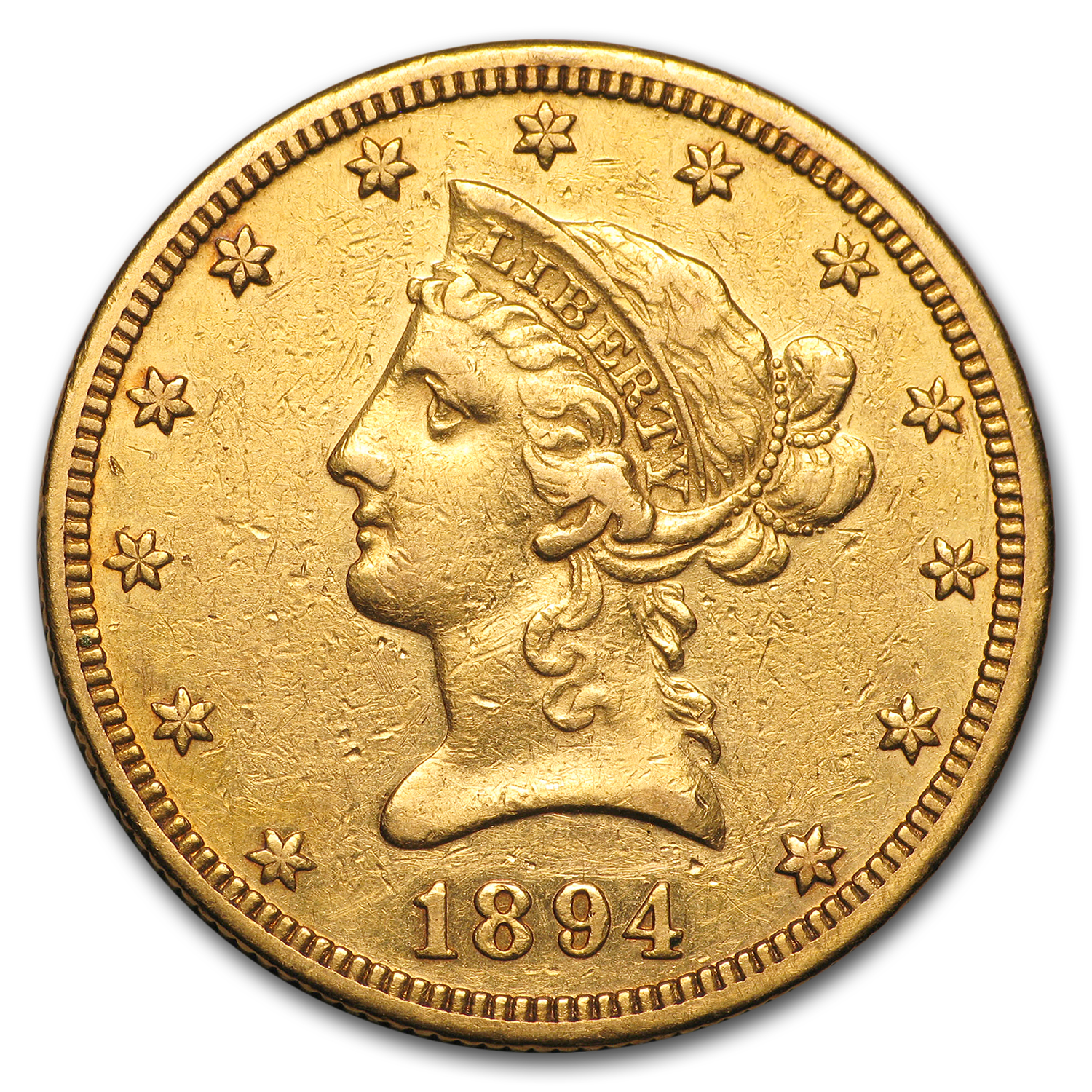 1894-O $10 Liberty Gold Eagle XF