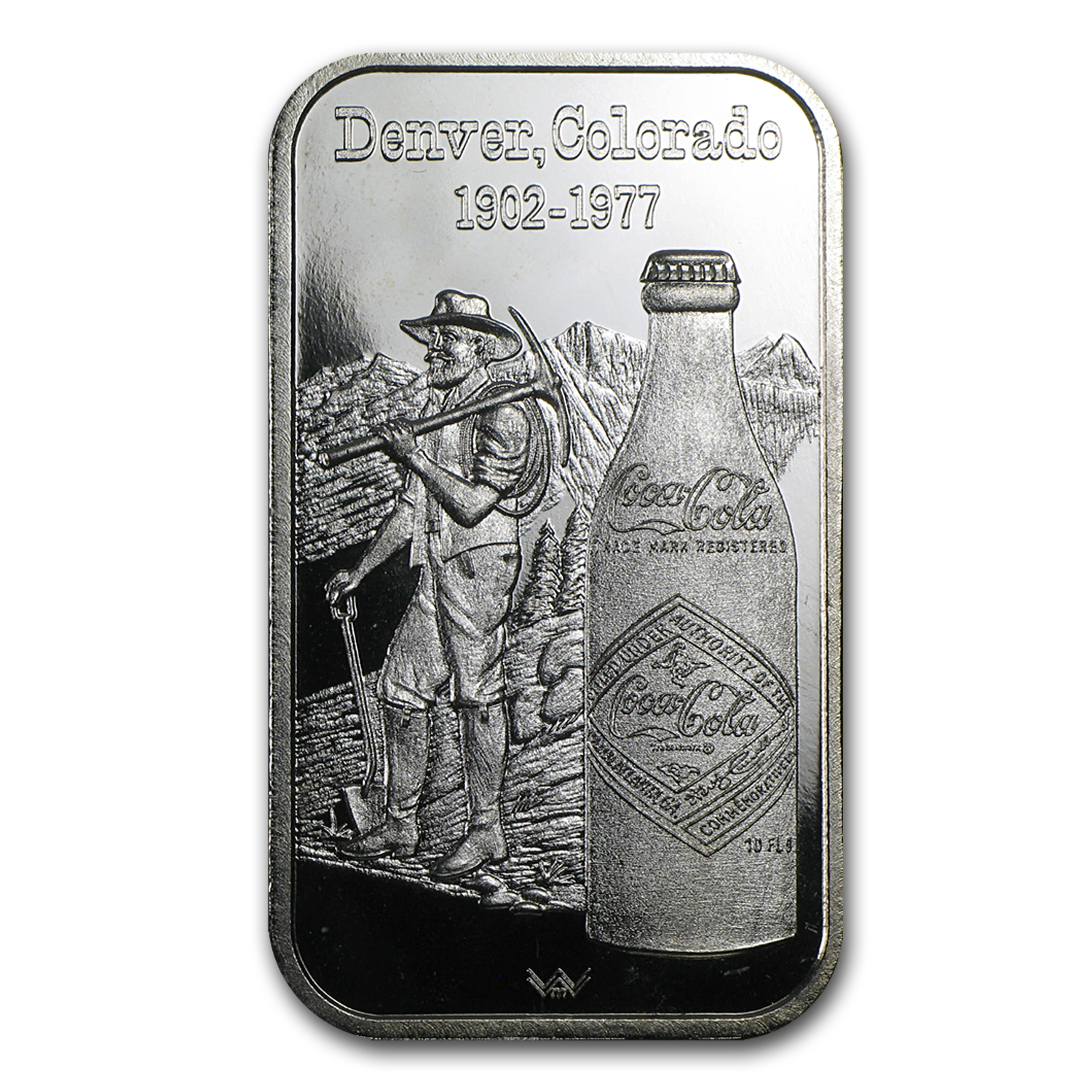 1 oz Silver Bar - Coca Cola (Denver, CO)