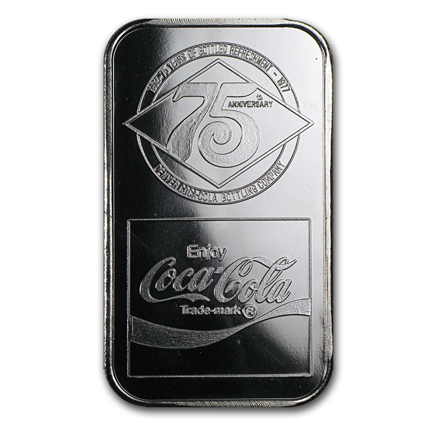 1 oz Silver Bars - Coca Cola (Denver, CO)