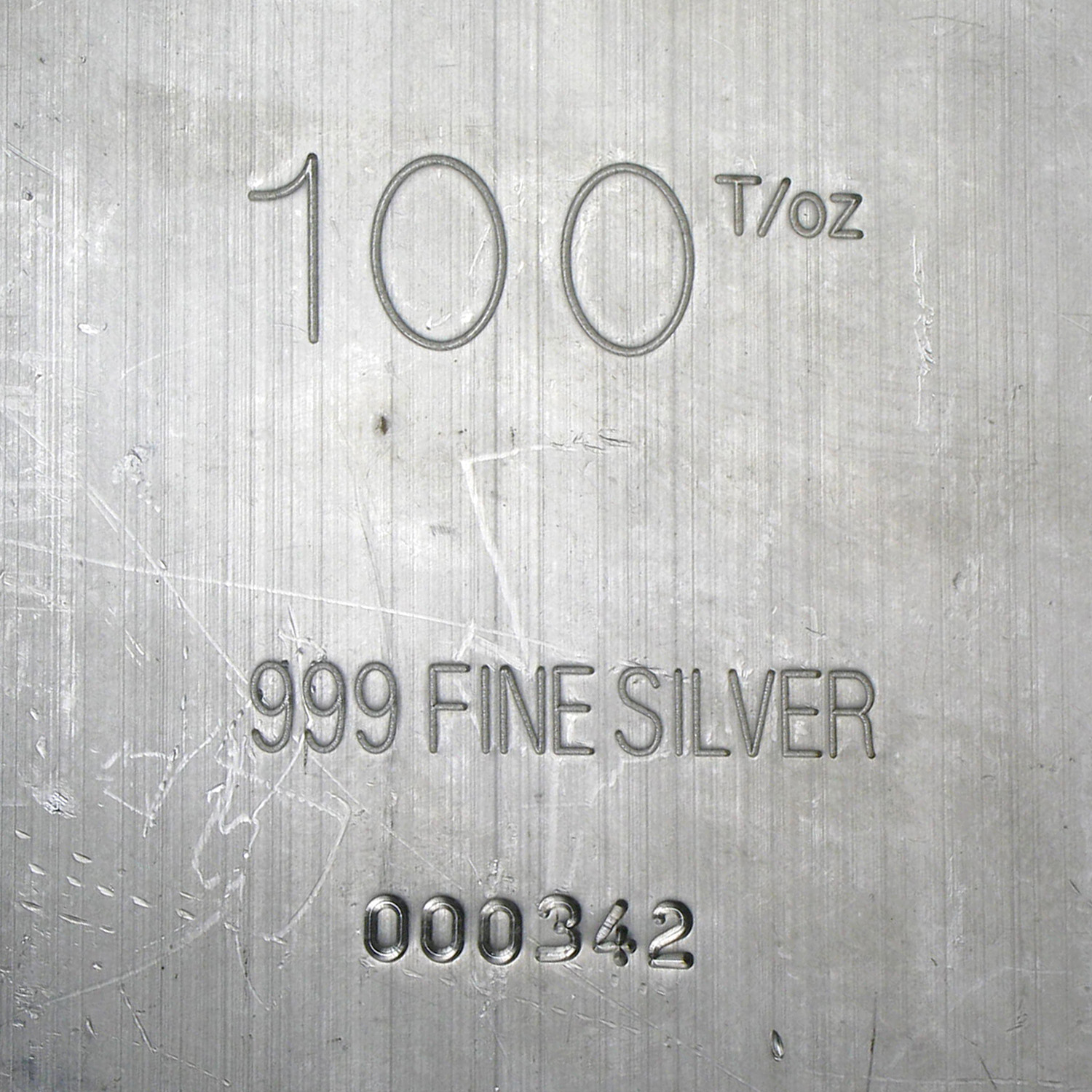100 oz Silver Bars - Heraeus (Extruded)