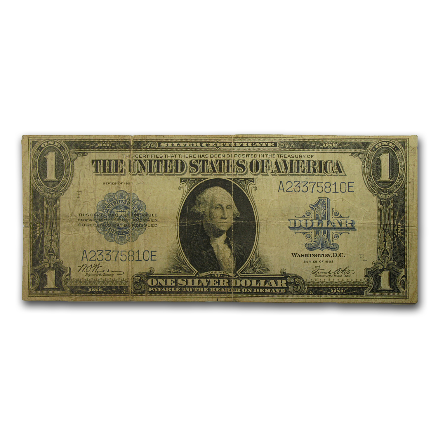 1923 $1 Silver Certificate (Very Good) FR #238