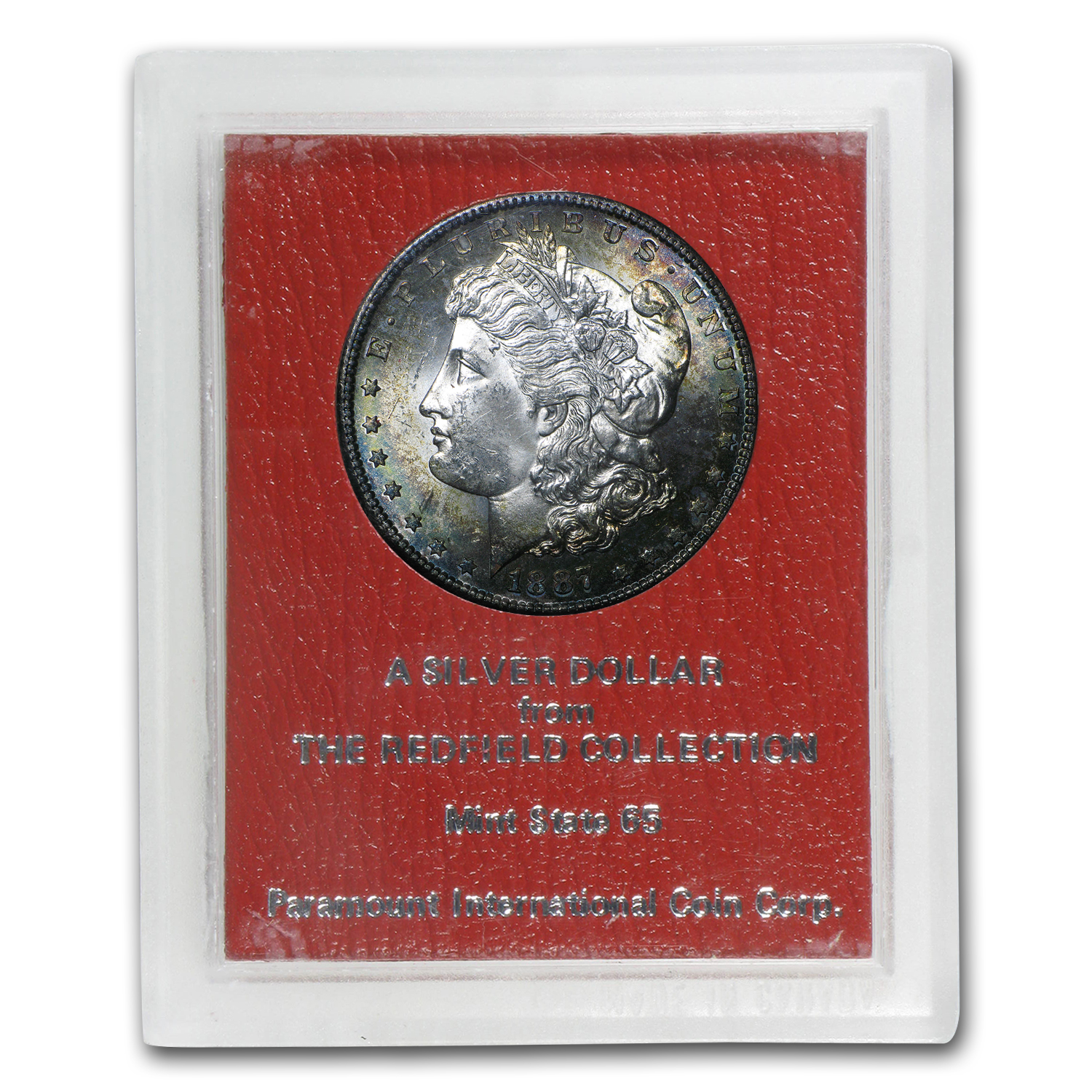 1887-S Morgan Dollar MS-65 (Redfield Hoard)