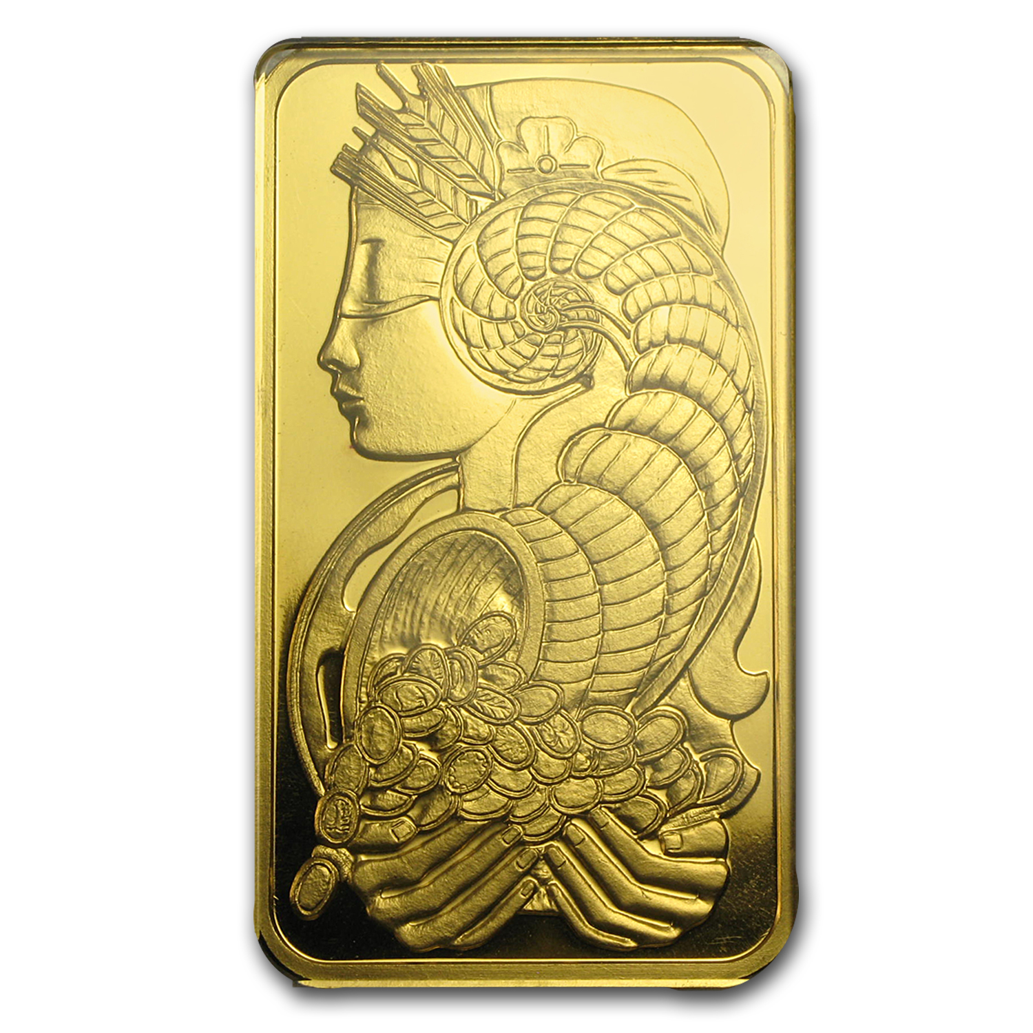 50 gram Gold Bar - PAMP Suisse (Pressed, In Assay)