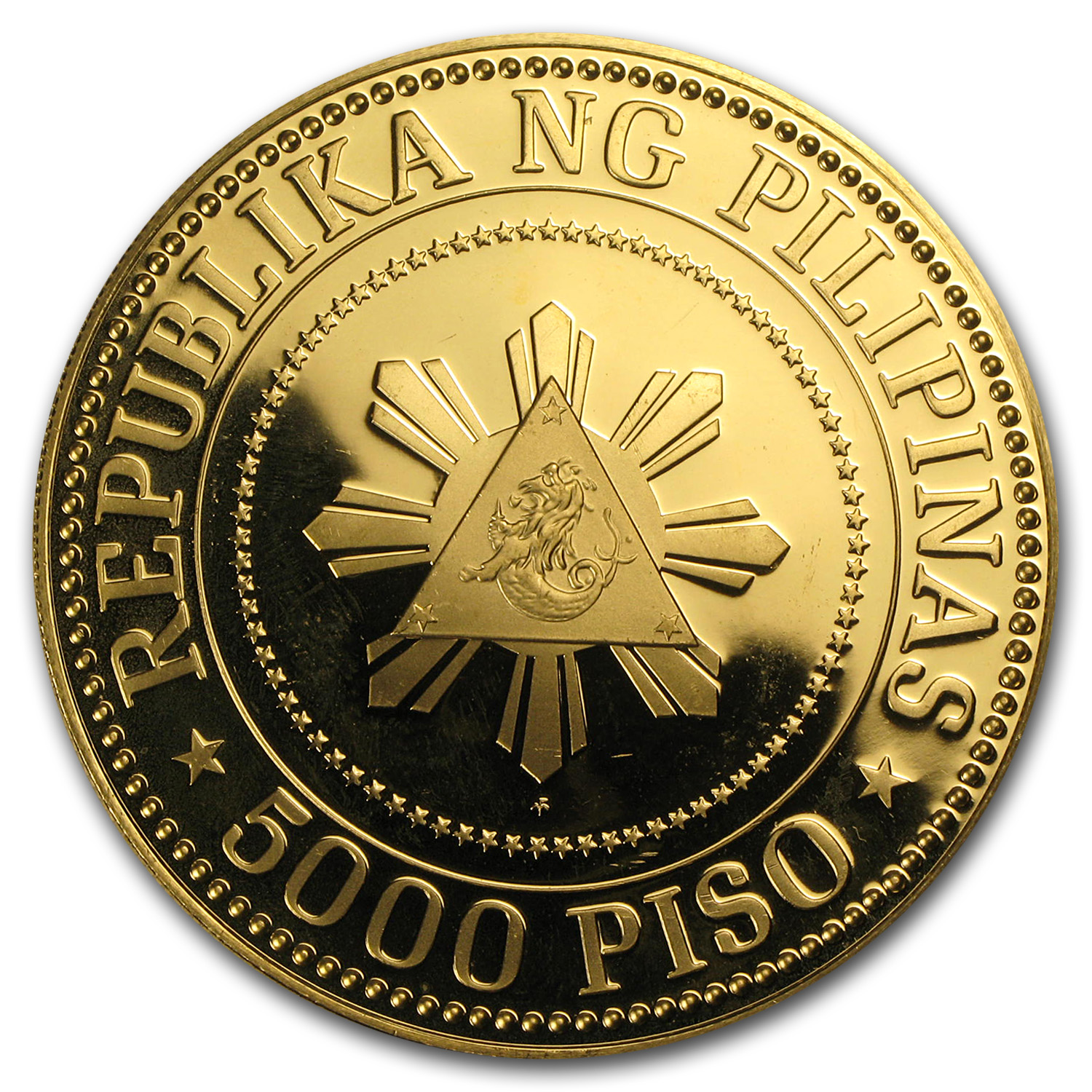 1977 Philippines Gold 5000 Piso Proof