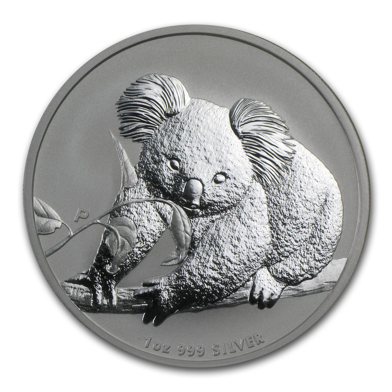 2010 Australia 1 Oz Silver Koala Bu Perth Mint Koala