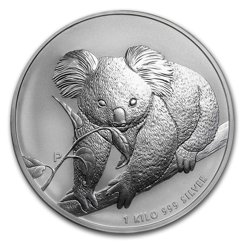 2010 Australia 1 Kilo Silver Koala Bu Silver Prices