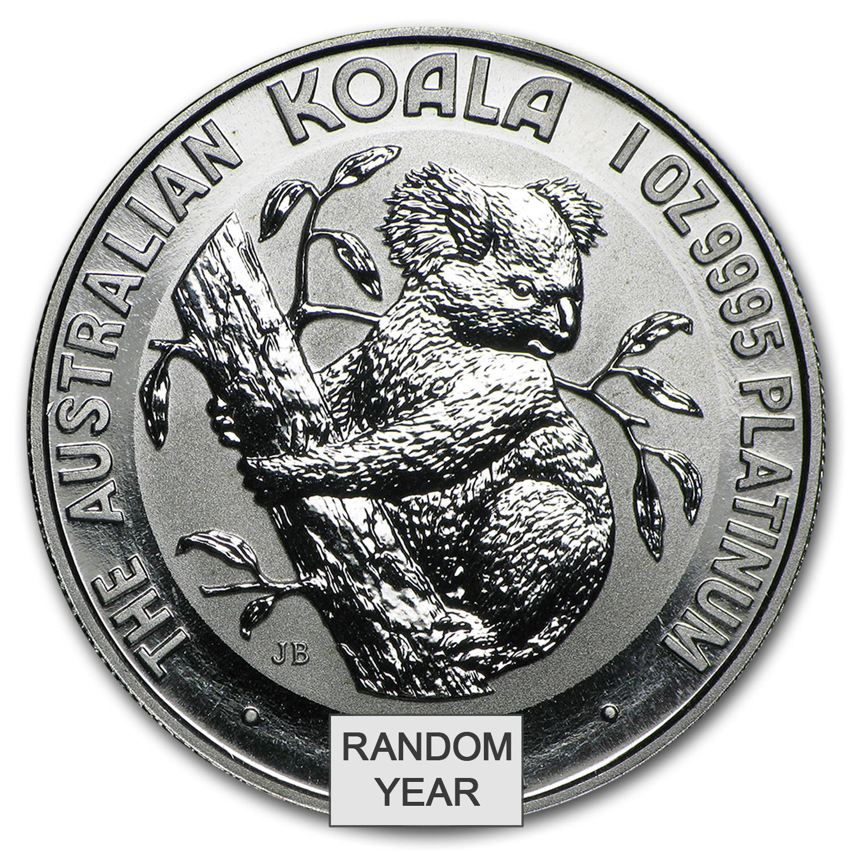 Australian Platinum Koala Coin 1 Oz Australia Platinum